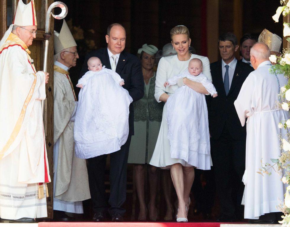 Royal Baby/2: battesimo per Gabriella e Jacques di Monaco
