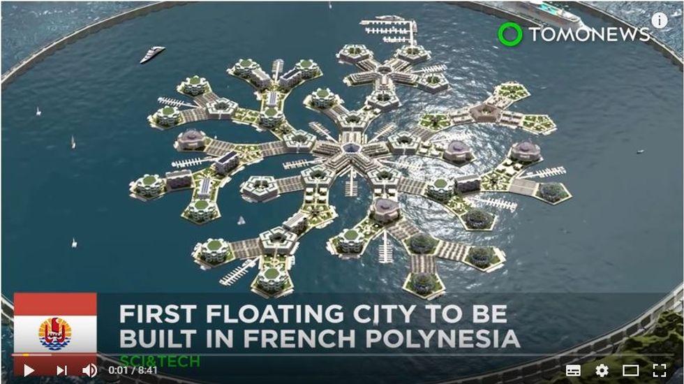 Il progetto della prima floating city che potrebbe realizzarsi entro il 2022