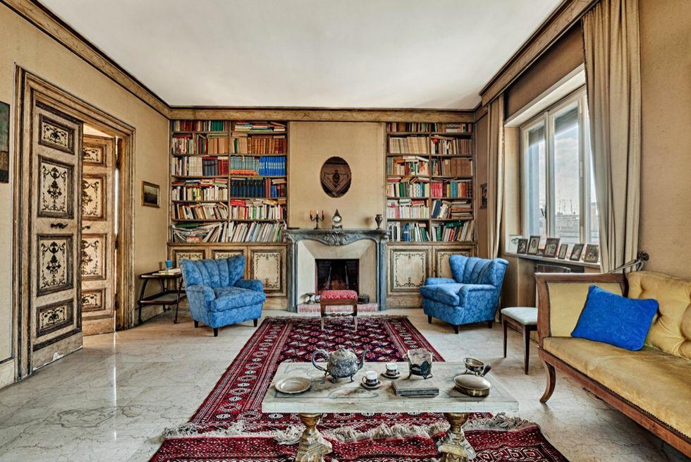 In vendita a Roma la casa di Federico Fellini e Giulietta Masina