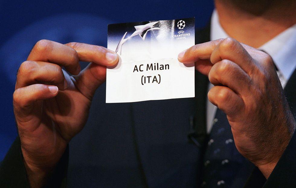 Sorteggio europeo: Milan - Atletico, Napoli - Swansea e Juve - Trabzonspor