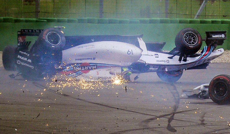 Tutti gli incidenti di Felipe Massa