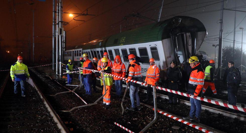 Treno deragliato pioltello