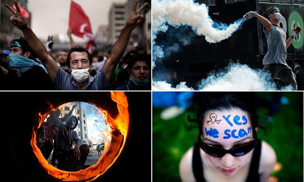 Le foto più belle del 2013 - Proteste