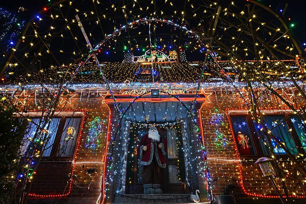 Le luci di Natale nelle foto più belle