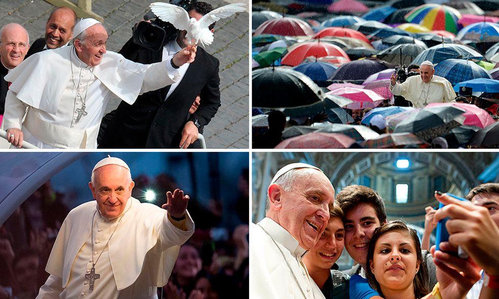 Le foto più belle del 2013 - Papa Francesco