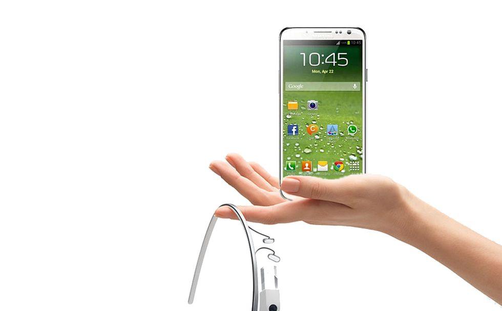 Il Samsung Galaxy S4 sarà un successo ma il futuro è di Google Glass