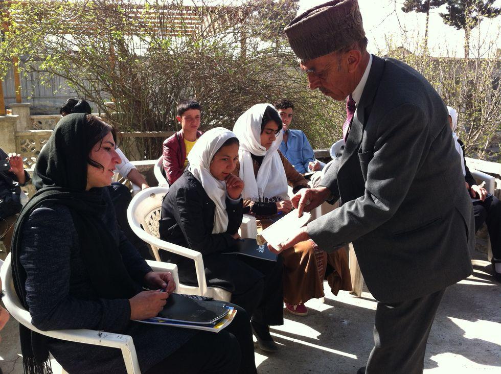 Che cosa significa insegnare a Kabul
