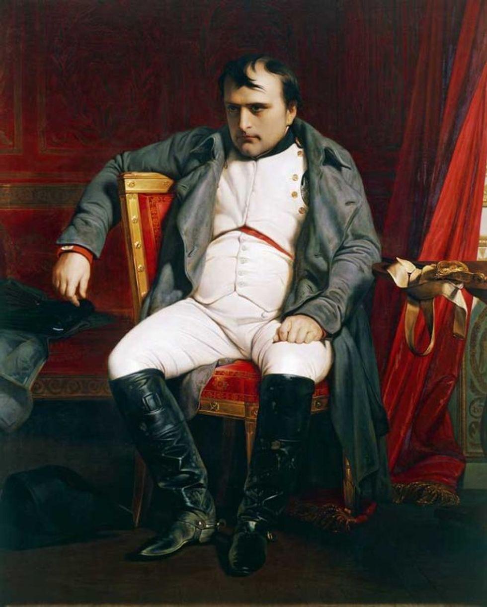 Egolatria narcisistica e brutte figure del cafone più grande del mondo: Napoleone secondo Hippolyte Taine