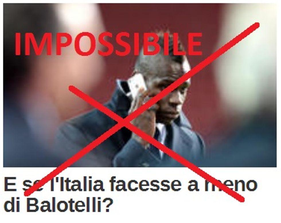 ... ma senza Mario l'Italia s'è persa