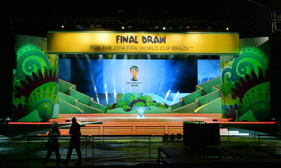 Il sorteggio dei Mondiali 2014 in Brasile - la diretta