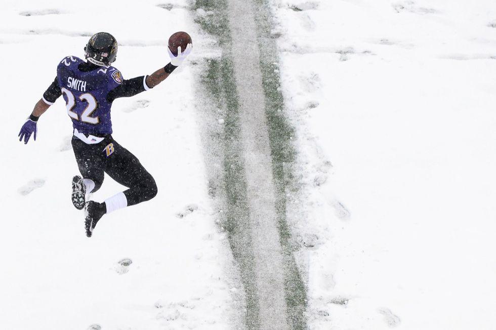 NFL, la domenica dello snow-bowl