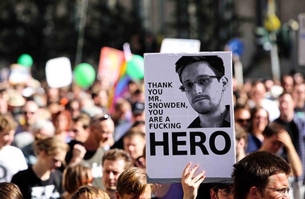 Edward Snowden, l'altro uomo dell'anno