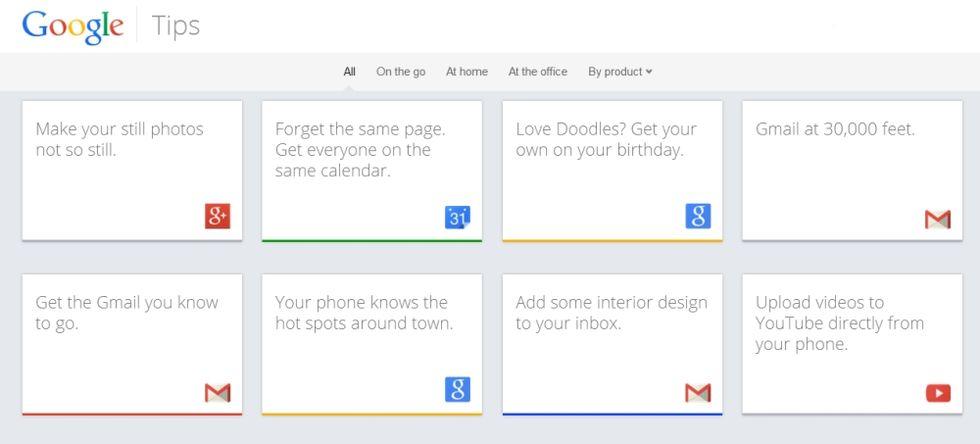 Google Tips, 5 suggerimenti per sfruttare al meglio Big G