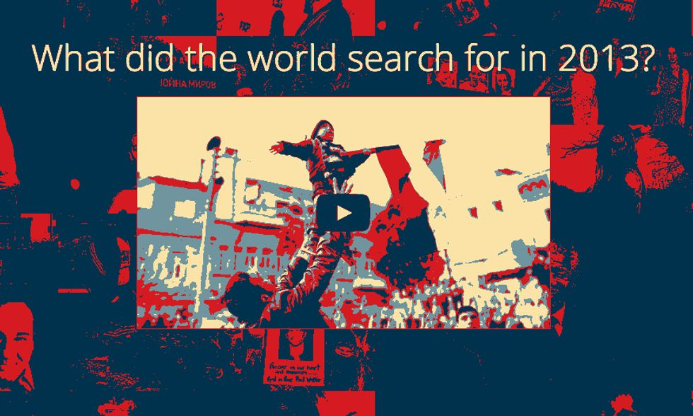Google Zeitgeist 2013, le ricerche nel mondo