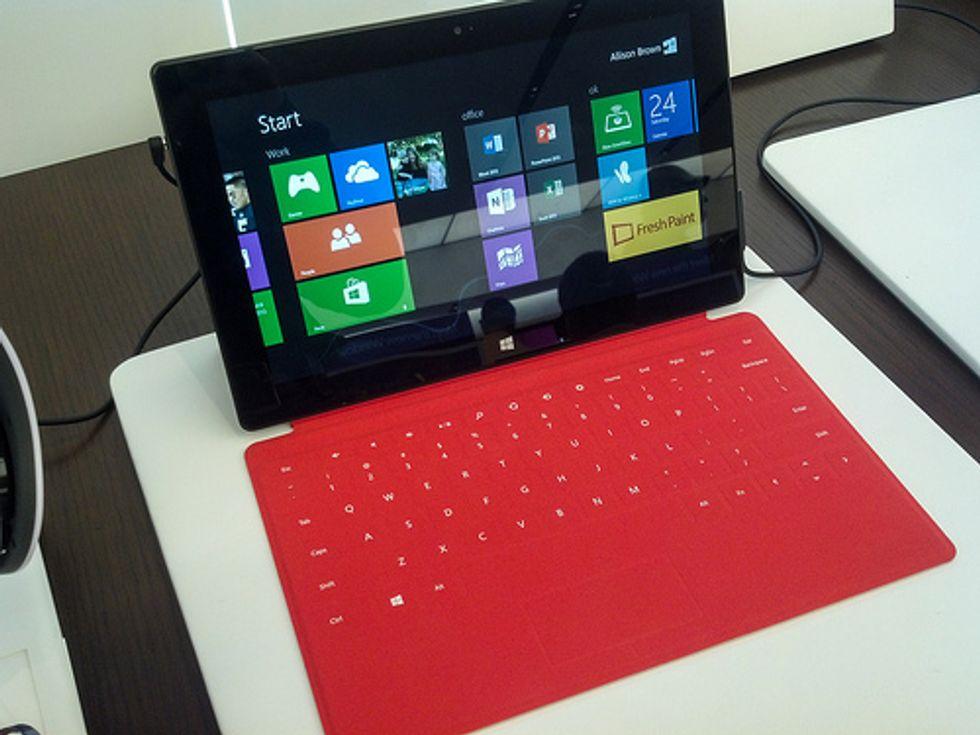 Microsoft Surface Mini: il segreto è il Kinect