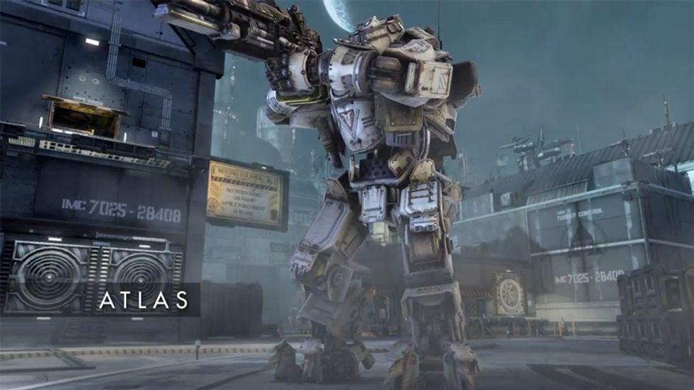 Titanfall: il trailer ufficiale dell'Atlas