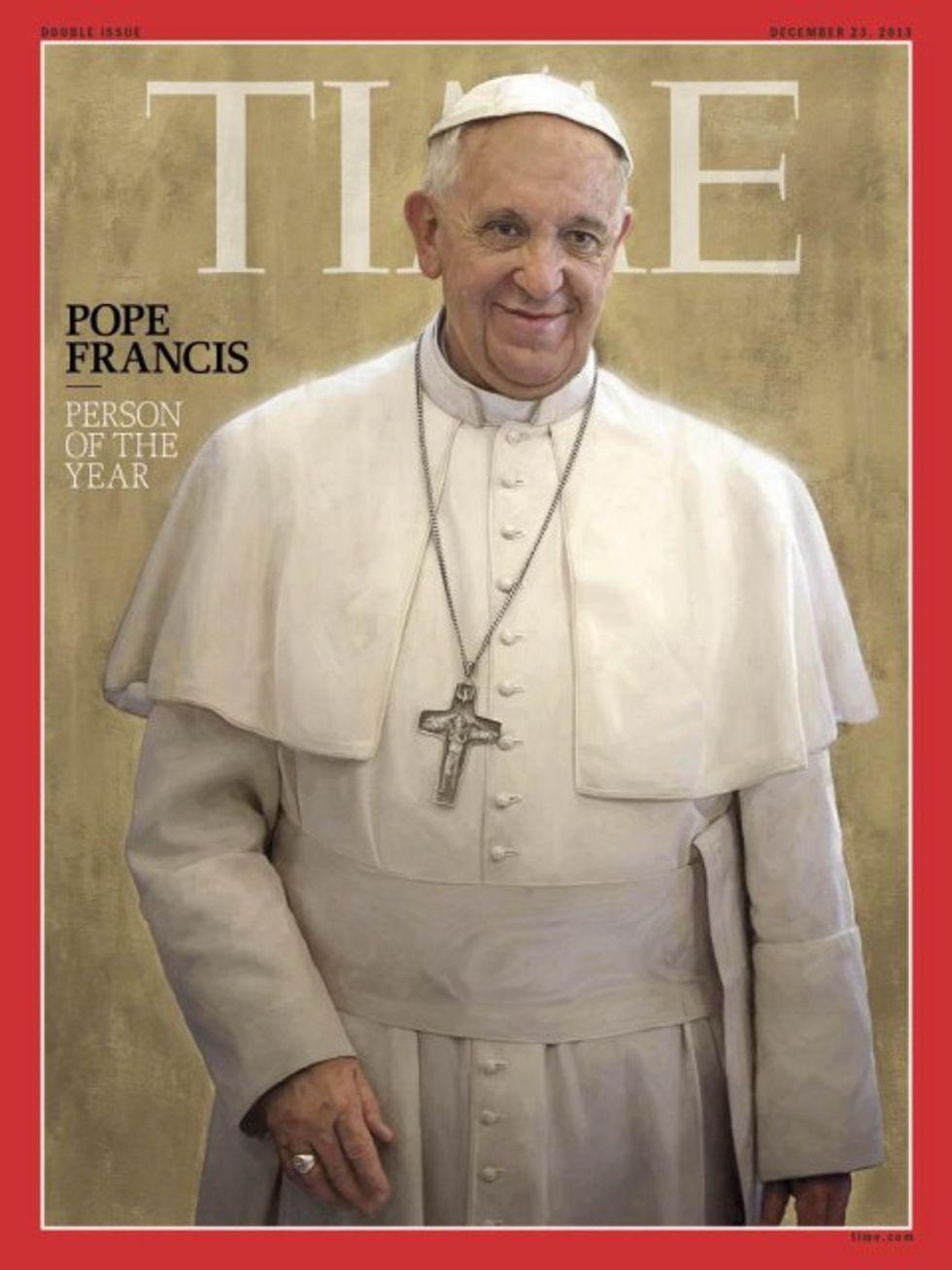 Time: la grandezza di Papa Francesco