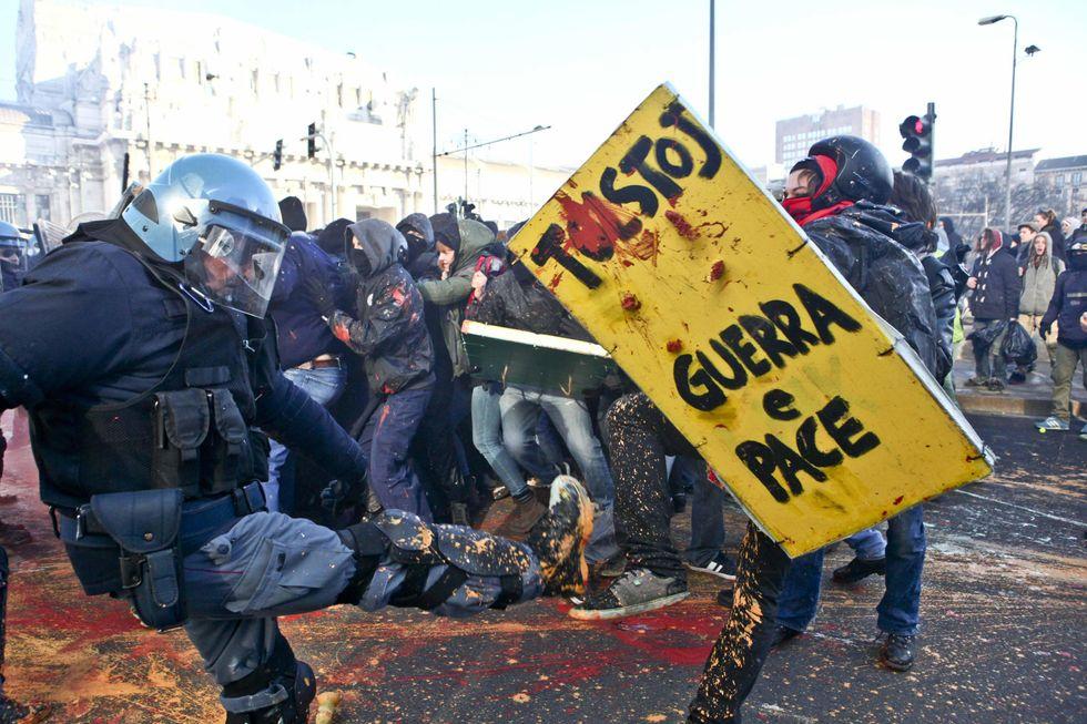 Manifestazione studenti a Milano: una testimonianza