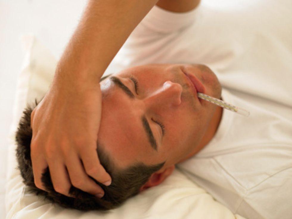L'influenza ti fa soffrire? Colpa del testosterone