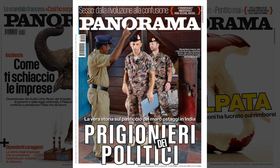 Panorama: i due marò prigionieri dei politici
