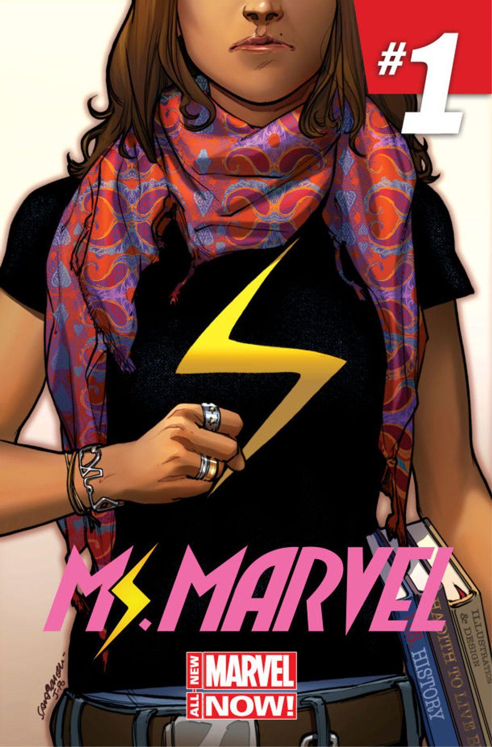Kamala Khan: la nuova eroina della Marvel è musulmana