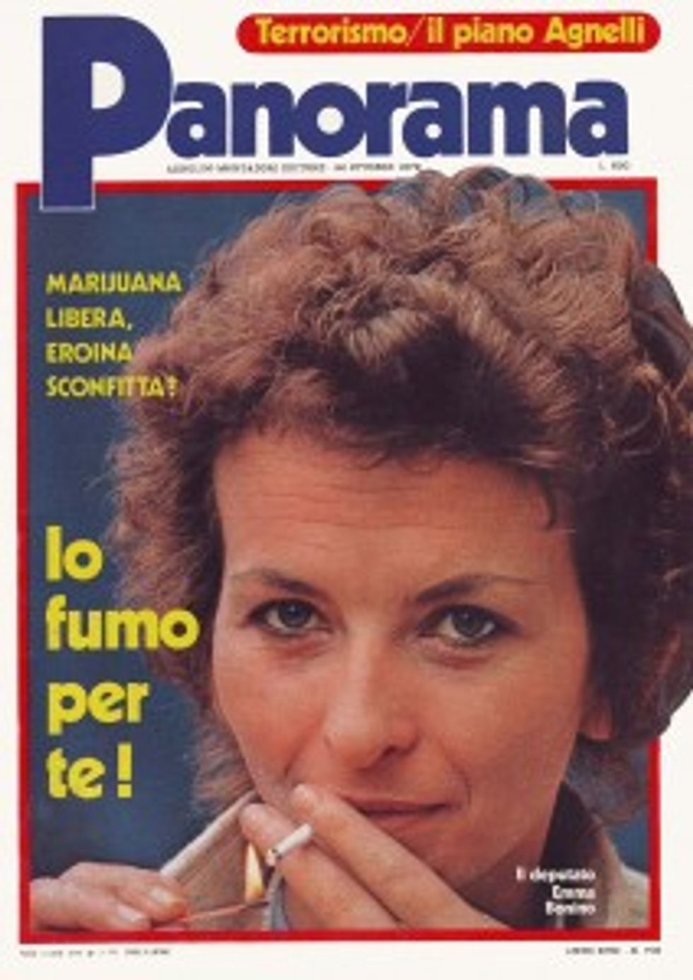 1979 Panorama e la marijuana libera
