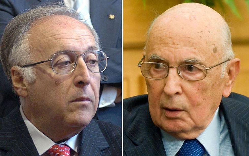 Napolitano scopre le intercettazioni illegali. E non ci sta