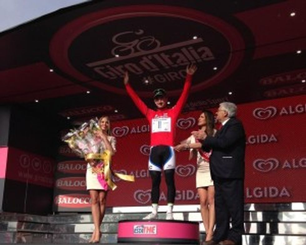 Giro d'Italia: nel cuore due fantastici giorni in maglia rossa, l'Irlanda e i tifosi italiani