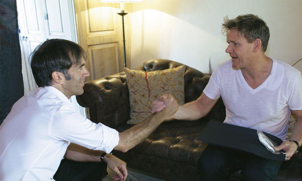 Davide e Gordon: intervista doppia a due chef stellari. Che si mettono a nudo
