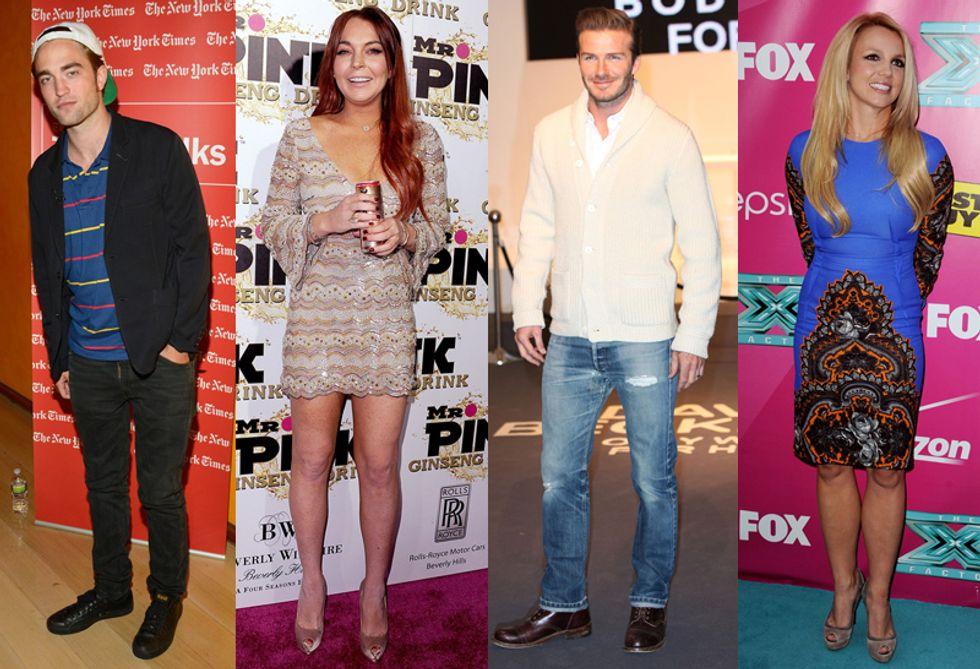 David Beckham farà l'attore, mentre Lindsay Lohan si scusa: mamma non è una cocainomane