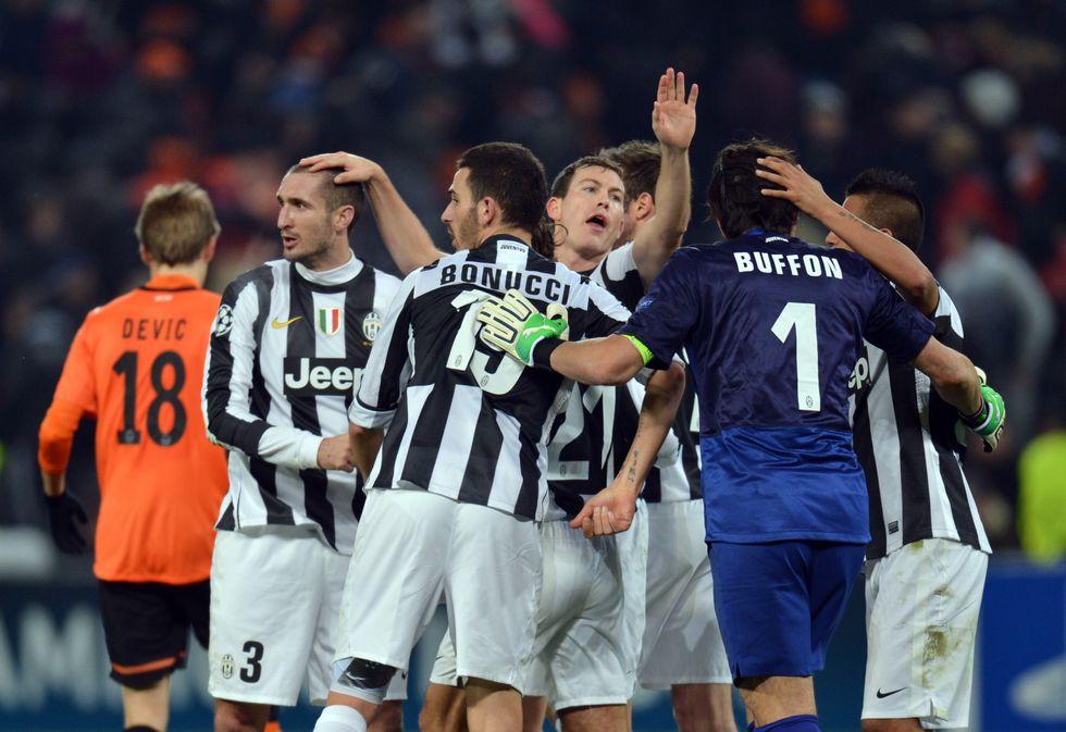 Il percorso della Juventus in Champions League