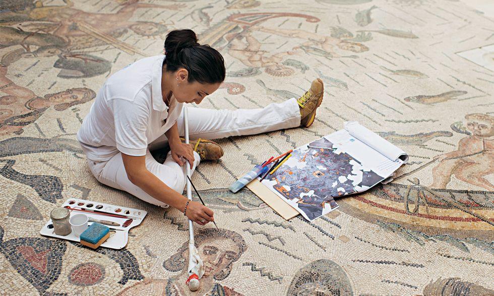 Miracolo a Piazza Armerina: ecco i mosaici dimenticati