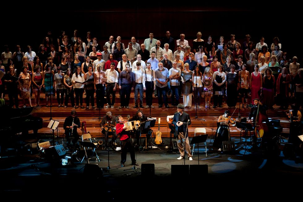 "Ambrogio Sparagna: ""In tournée con De Gregori canto la poesia popolare"""