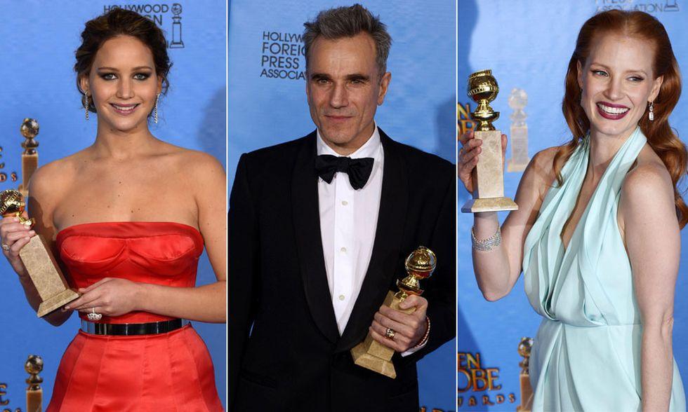 Golden Globe 2013, le foto dei vincitori