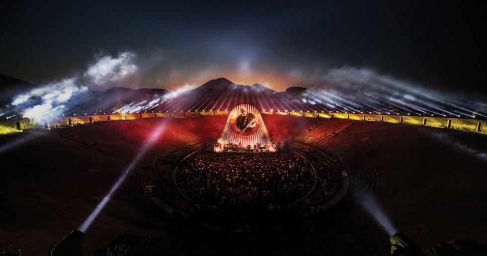 """David Gilmour: la magia di """"Live at Pompeii"""" rivive sul grande schermo"""