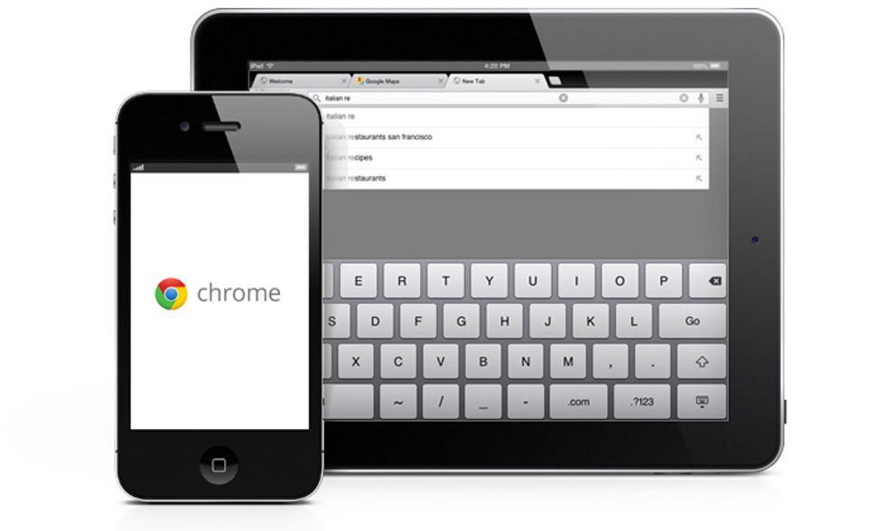Chrome per iPad e iPhone? Una delusione (almeno per ora)
