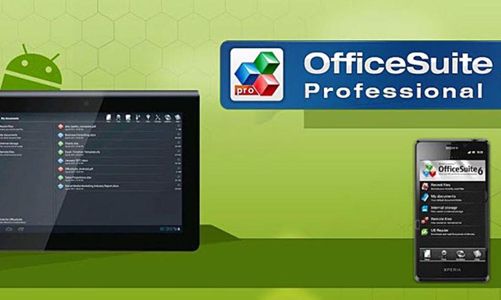 Le migliori applicazioni per Android: OfficeSuite Professional