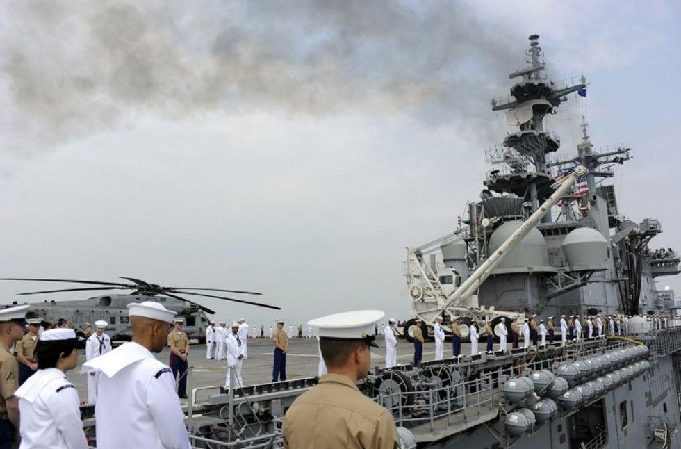 La flotta americana si rafforza nel Pacifico