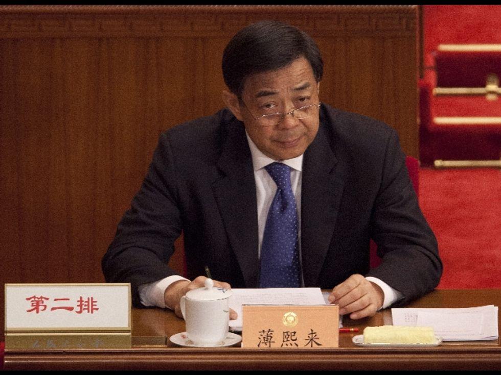 Bo Xilai viene espulso dal Parlamento cinese