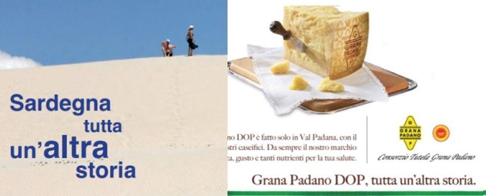 La guerra (intelligente) tra Sardegna e Grana Padano