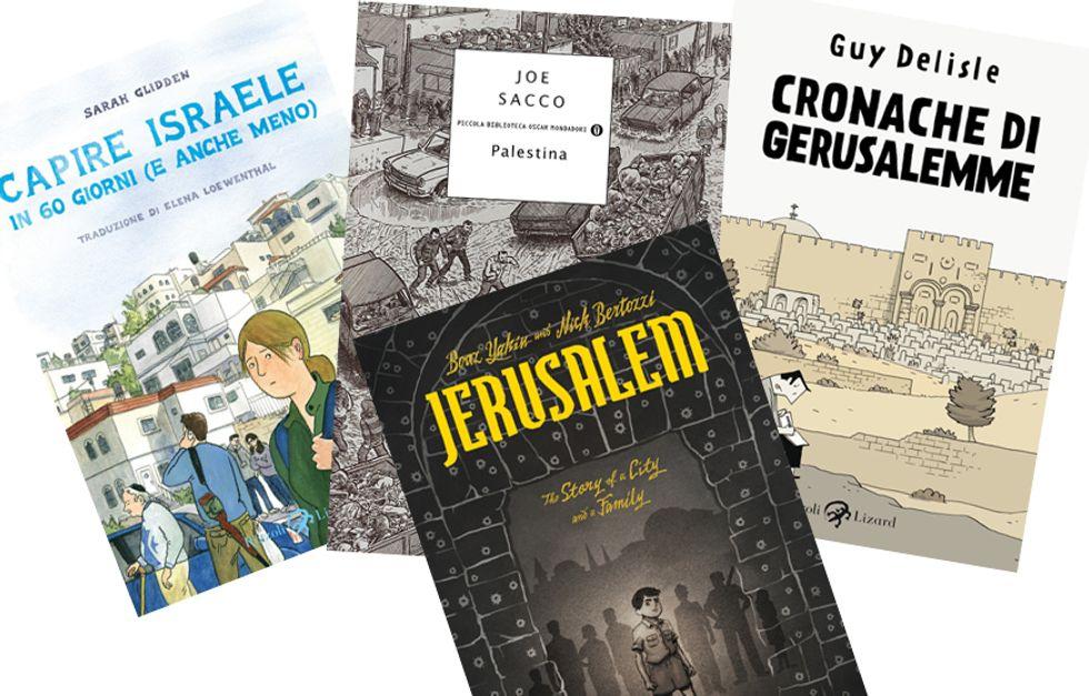La questione israelo palestinese vista dai fumetti