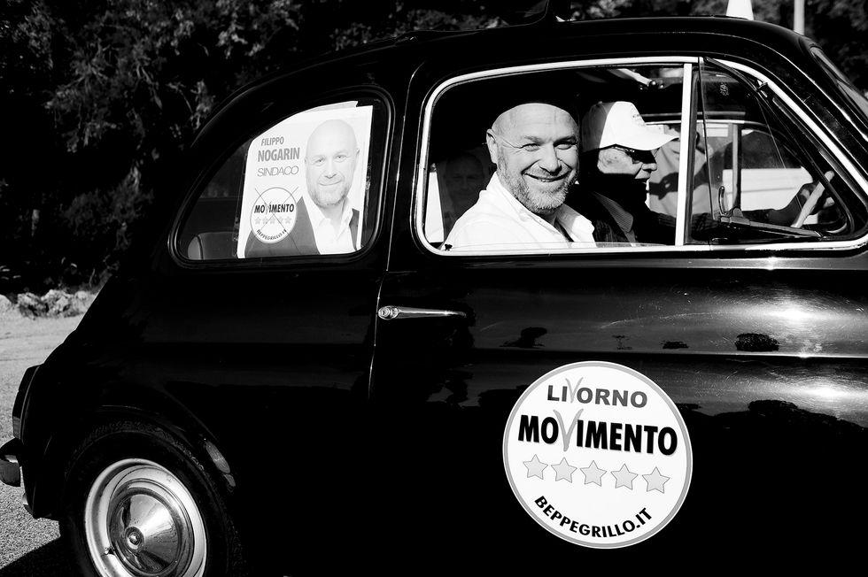 """Filippo Nogarin: """"Con Grillo ma anche coi centri sociali"""""""