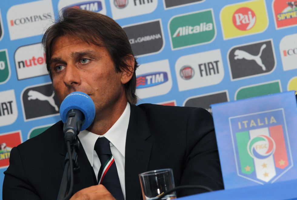 """La prima di Antonio Conte ct: """"Voglio una squadra orgogliosa, umile e cattiva"""""""