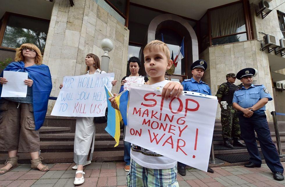 Ucraina, economia prossima al collasso