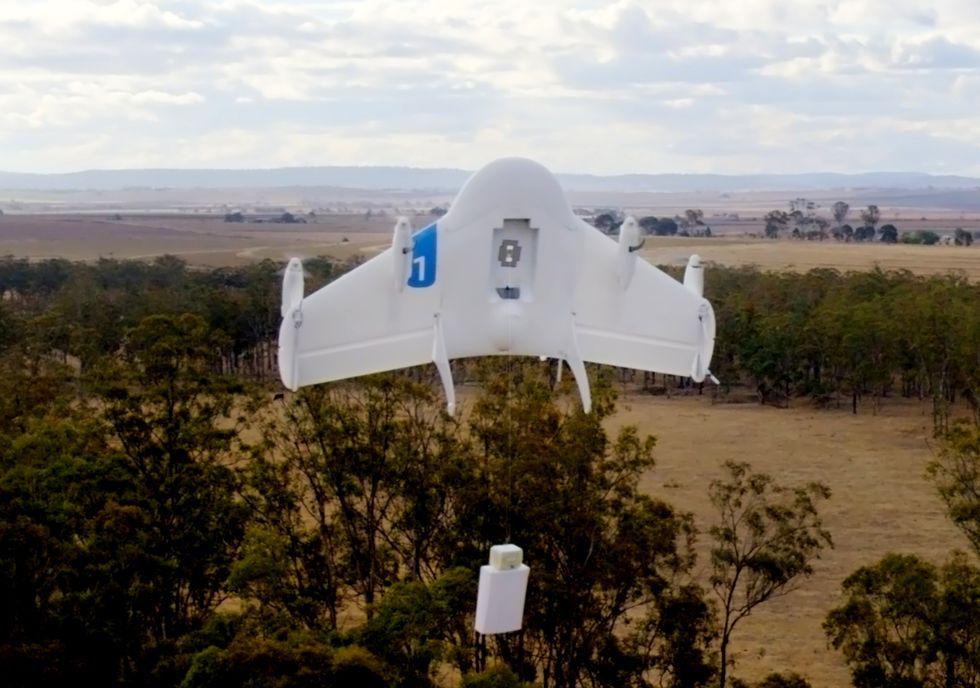 Project Wing: così i droni di Google cambieranno la nostra vita