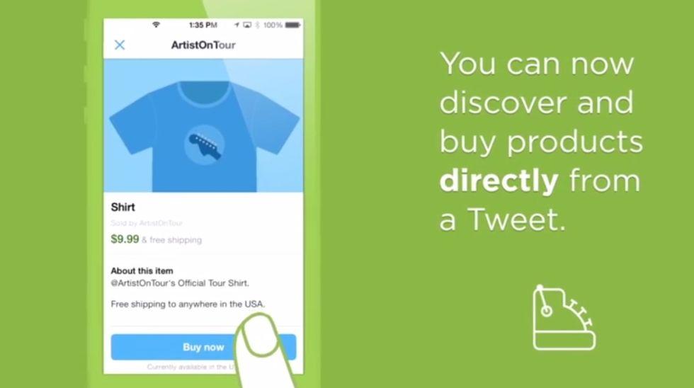 """Twitter diventerà come Amazon. Ecco a cosa serve il tasto """"compra"""""""