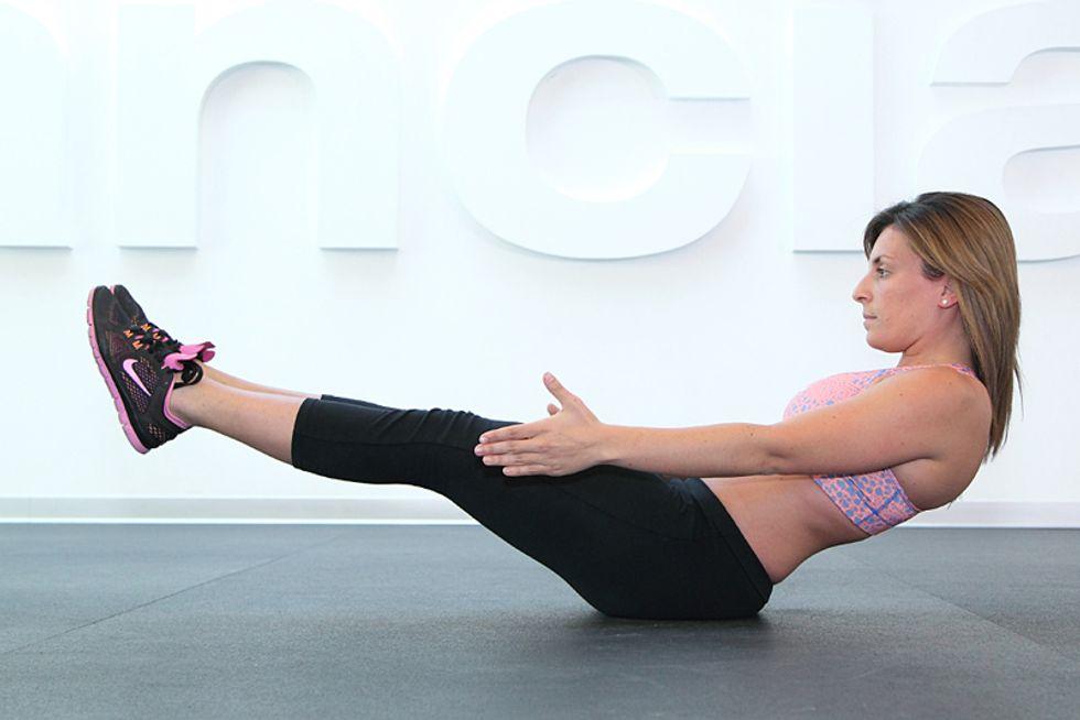 Addominali: il workout per lei