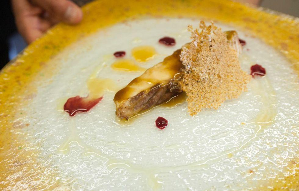 Lo storione 'mari-nato' dello chef Giovanni Galesi - FOTO e VIDEO