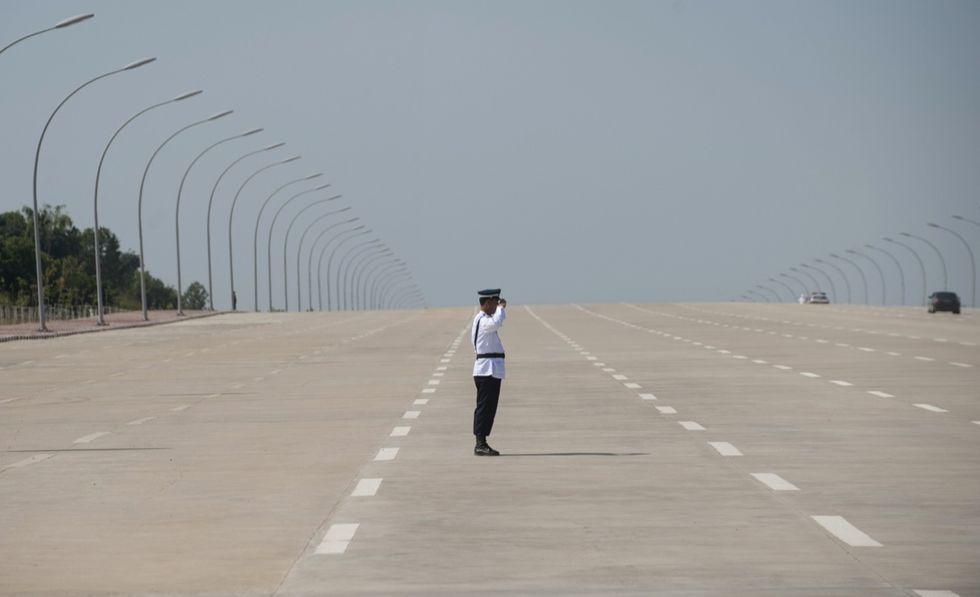 La capitale fantasma del Myanmar - FOTO