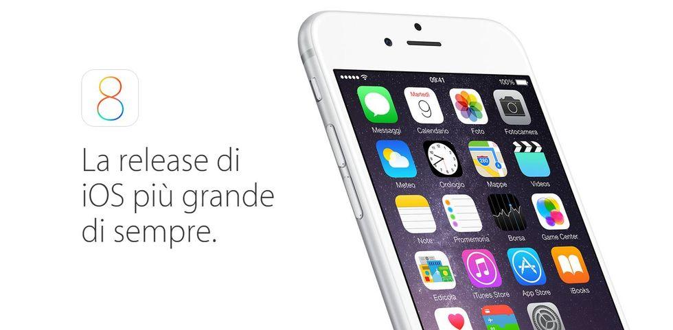 iOS 8: ecco cosa cambia